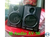 M-Audio AV-30 Speakers