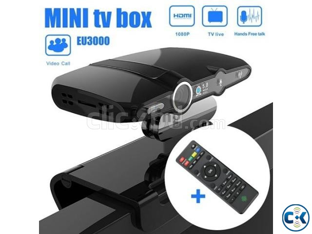 SMART ANDROID TV BOX WITH CAMERA WITH WIFI | ClickBD large image 1