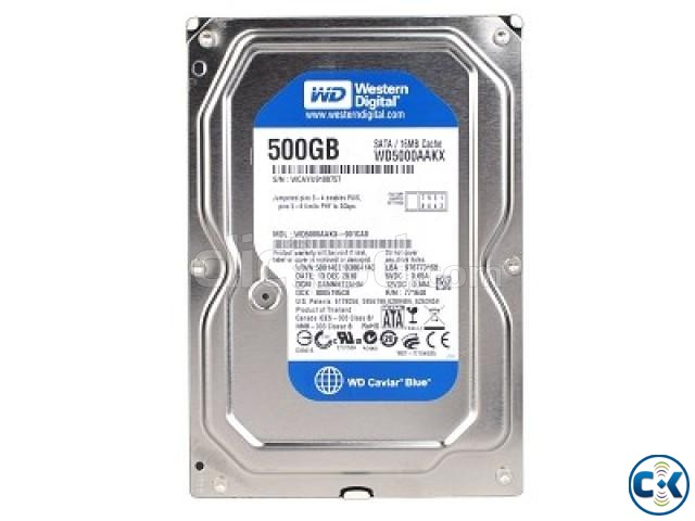 Western Digital Harddisk 500GB Desktop | ClickBD large image 0