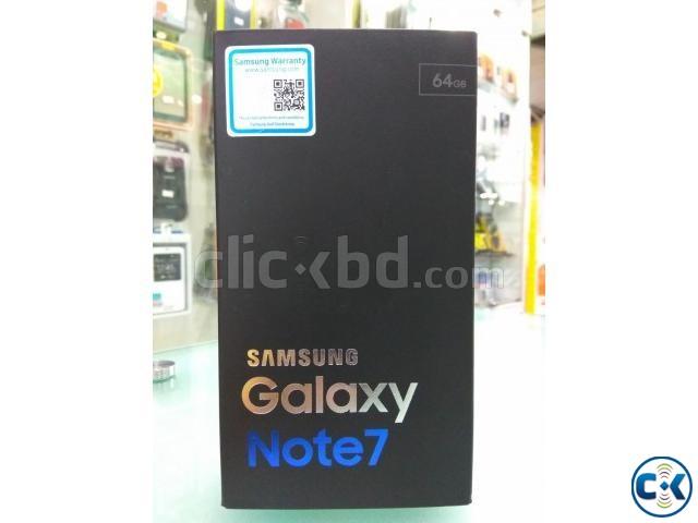 Samsung Note 7 Dual sim BLACK Full Box | ClickBD large image 0