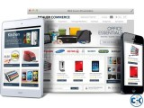 E-commerce website with payment gateway