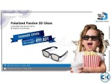 Passive Polarized 3D Glass 3D SOLUTION