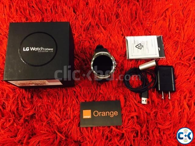 LG watch urbane 2nd edition LTE intact | ClickBD large image 0