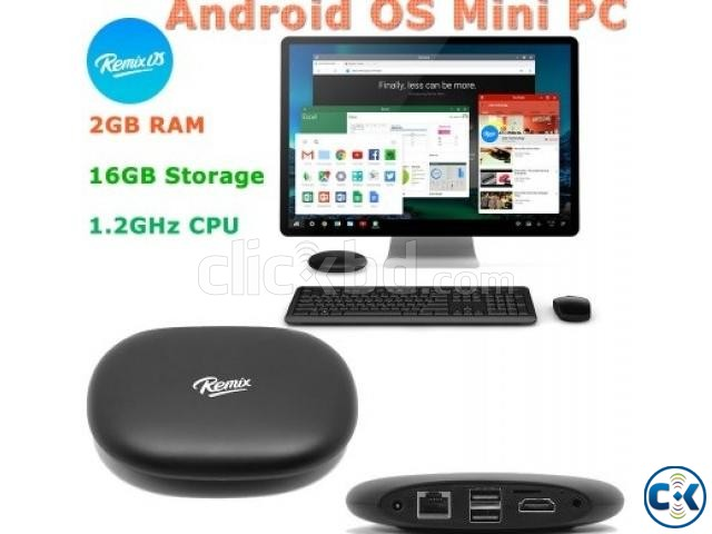 REMIX MINI WORLD S FIRST TRUE ANDROID PC TV | ClickBD large image 0