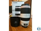 Canon EF 100-400 mm lens