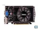 MSI Geforce GT 630 2GB DDR3