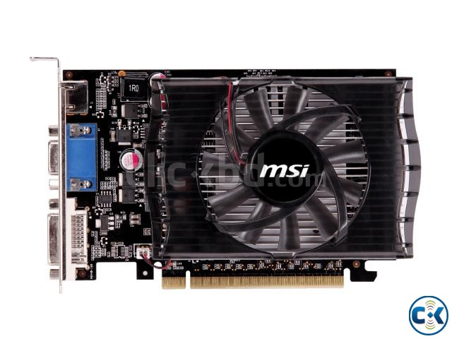 MSI Geforce GT 630 2GB DDR3 | ClickBD large image 0