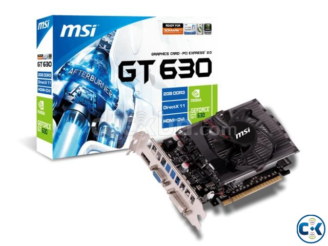 MSI Geforce GT 630 2GB DDR3 | ClickBD large image 1