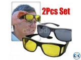 2 IN 1 NIGHT VISION POLARIZED ANTI-GLARE GLASS