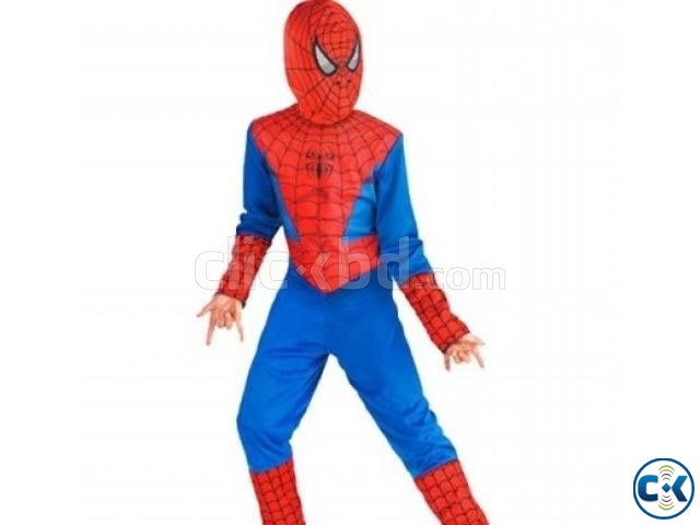 SPIDERMAN MAN DRESS FOR KID | ClickBD large image 0