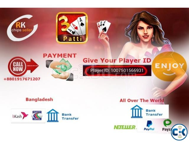 Teen Patti Gold Chips Money sell | ClickBD large image 2