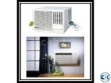Model: AXGT18AATH Window Type 1.5 Ton air Conditioner