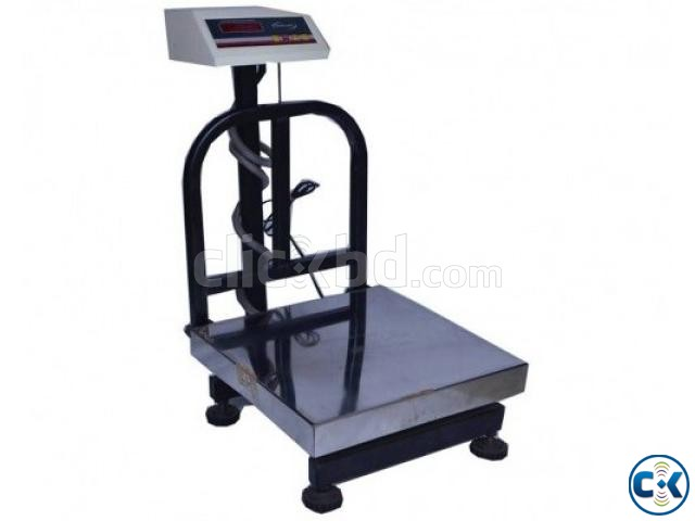 200 Kg Capacity Stainless Steel Scale | ClickBD large image 0