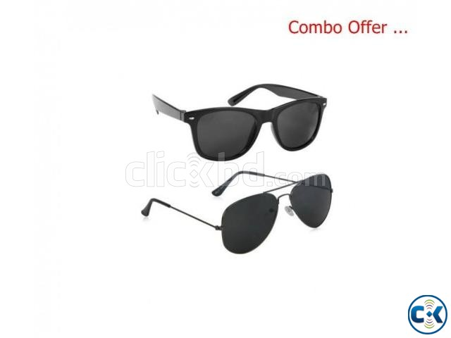 Men s Ray Ban Black Wayfarer Sunglasses | ClickBD large image 0