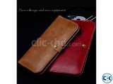 JLW Wallet Leather Protective Cover Business Style only blac