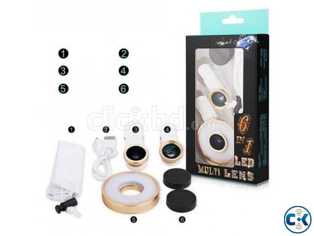 6 in 1 led multi lens home delivery | ClickBD large image 4