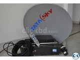 Tata sky HD full Used 1 month
