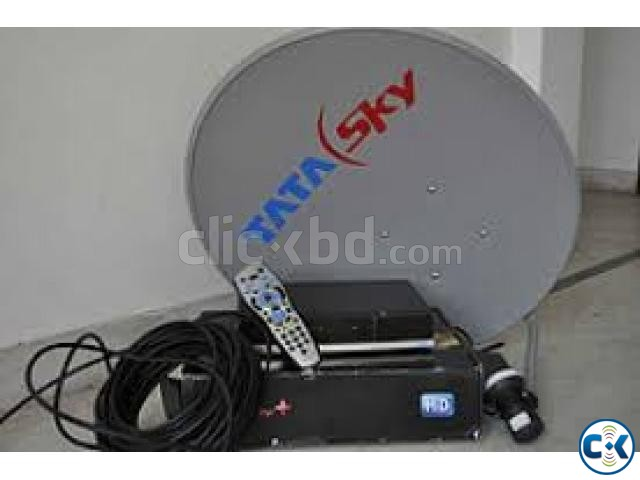 Tata sky HD full Used 1 month | ClickBD large image 3