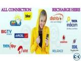 TataSky DishTV Airtel Recharge