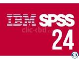 SPSS Statistics 24 Full License x86 x64