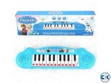 FROZEN CARTOON ELECTRONIC ORGAN PIANO KEYBOARD