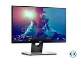 Dell 21.5 Full HD LED Borderless Monitor-Built-in Speaker