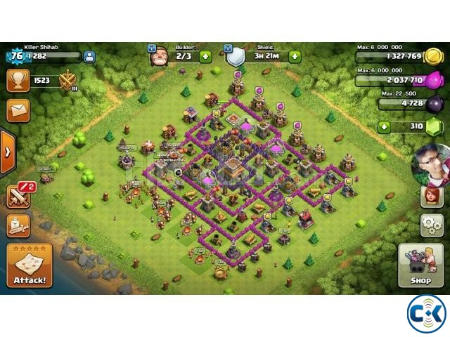 Th 8 base of clash of clans | ClickBD large image 0