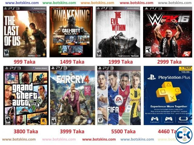 PS3 Games Digital Codes | ClickBD