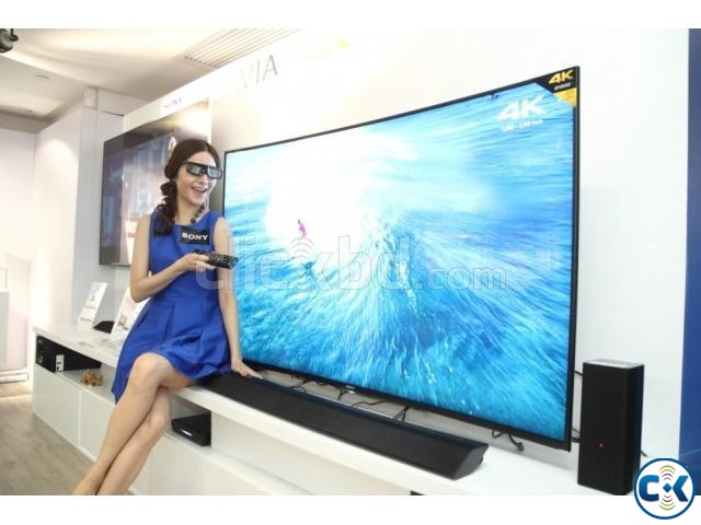 55 SONY BRAVIA S8500C 4K 3D CURVED SMART TV | ClickBD large image 1