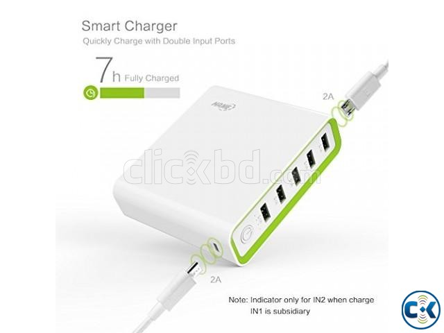 Hame H18 5-Output 20000mAh Heavy Duty Power Bank | ClickBD large image 1