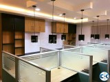 office interior decoration. our done project pic