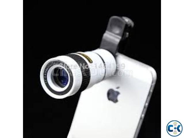 8x zoom optical telescope mobile lens clickbd