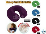 TOP QUALITY MEMORY FOAM TRAVEL PILLOW