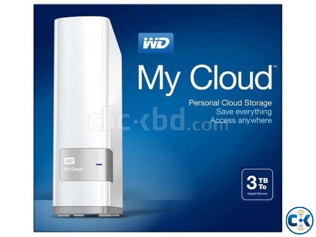 All New WD My Cloud 2016 with OS 3 3TB  | ClickBD large image 0