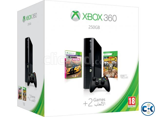 Xbox-360 E all most new full boxed with warranty | ClickBD large image 0