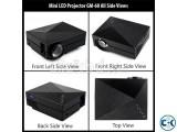 GM60 3D Mini LED Projector
