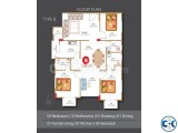 Ongoing 1675 sft. Luxurious Apartment at Basundhara R A