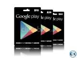 Cheap Google Play Cards