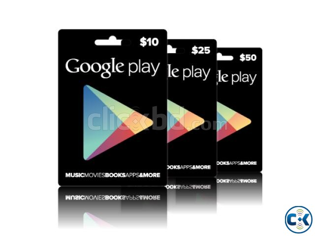 Cheap Google Play Cards | ClickBD large image 0