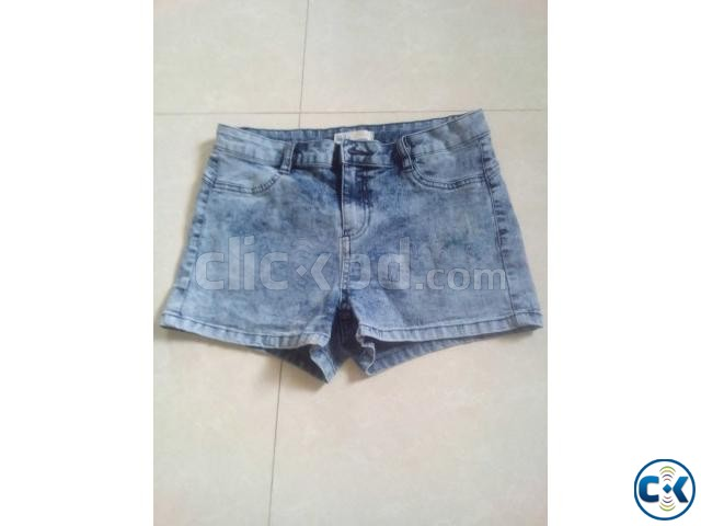 Bangladesh Jeans Stocklot Lady s Sexy Denim Pant Skirt | ClickBD large image 0