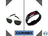 AO Sunglasses with Free Led watch