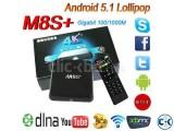 Android TV BOX M8S+ 4K 2GB RAM 8GB ROM