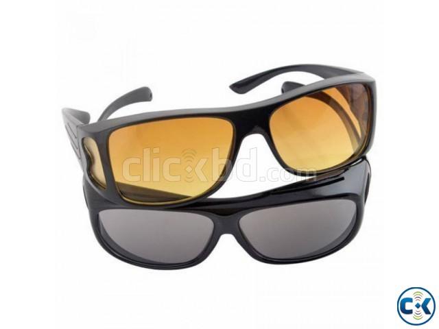 HD Vision Wrap Around Sunglasses. | ClickBD large image 0