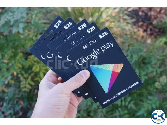 Google play gift cards available in Bangladesh | ClickBD large image 0