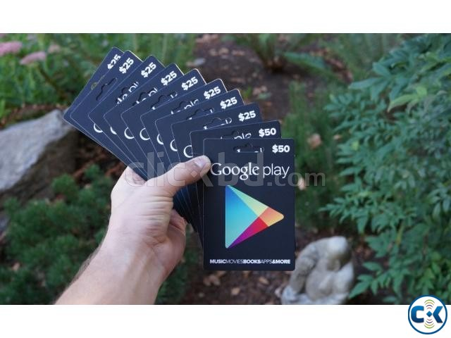 Google play gift cards available in Bangladesh | ClickBD large image 2
