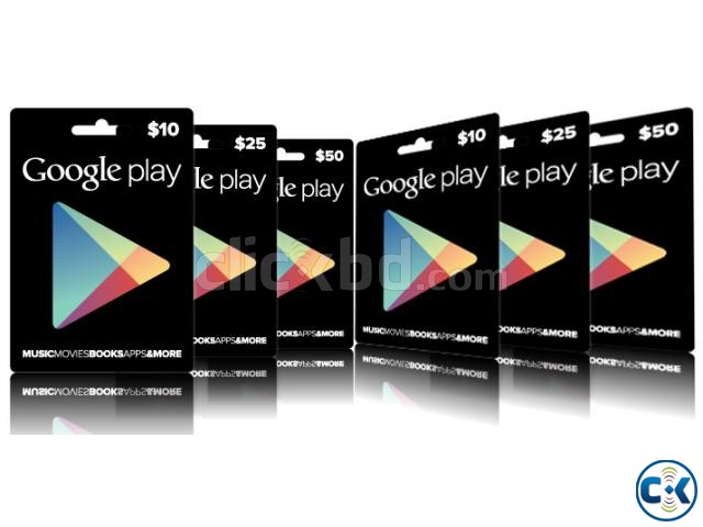 Google play gift cards available in Bangladesh | ClickBD large image 3