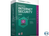 Kaspersky Internet Security 2016 3PC 3 User - 1 Year