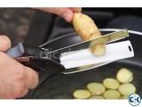CLEVER CUTTER 2IN1 KNIFE CUTTING BOARD SCISSORS