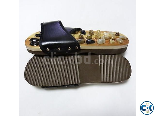 Chinese Massage Slipper Shoes Sandal Therapy Neutral | ClickBD large image 0
