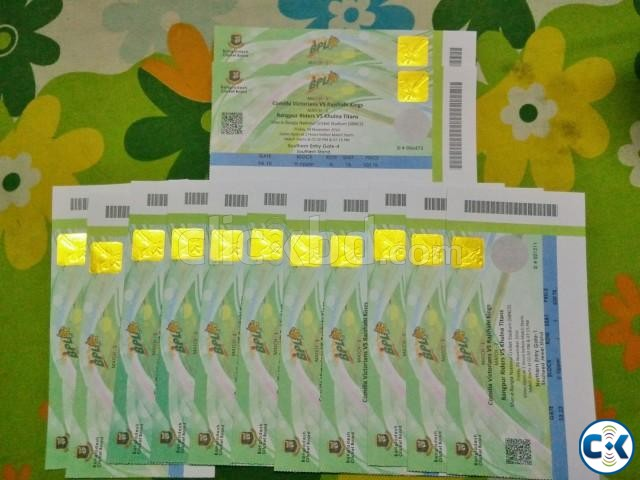 BPL t20 ticket 1st match Jewel Stand Upper | ClickBD large image 0
